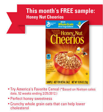 image about Cheerios Coupons Printable referred to as Honey nut cheerios discount coupons printable 2018 / Wicked