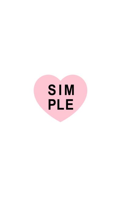 SIMPLE HEART SEAL(black pink)V.4