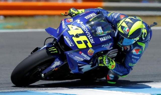 Hasil Kualifikasi MotoGP Italia 2018: Rossi Pole