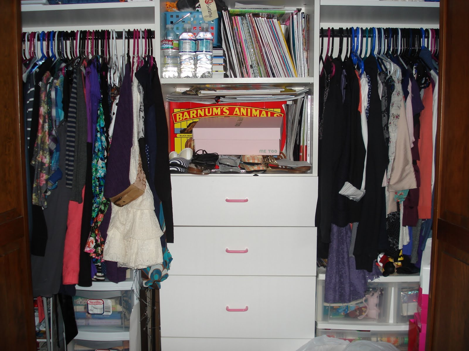 The Retail Therapy Diaries Ocd Organize Closet Day