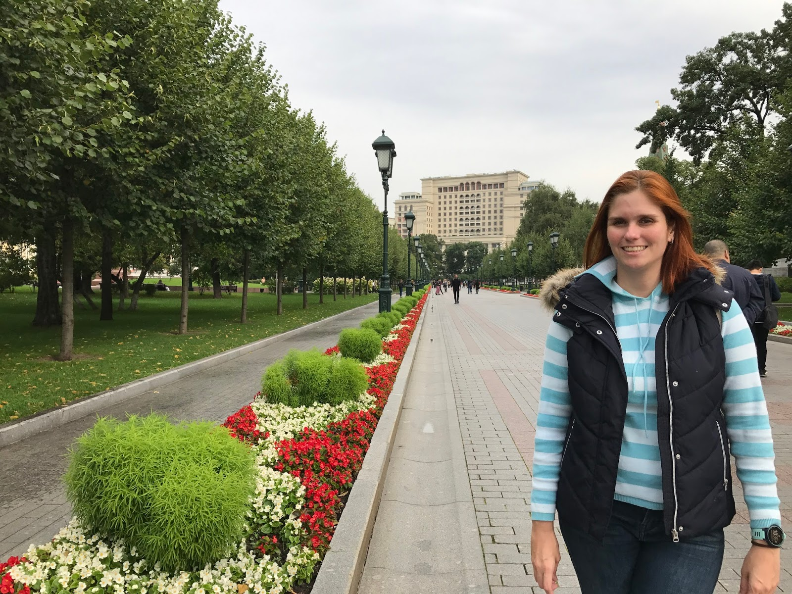 Jardim de Alexandre - Moscou