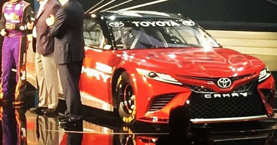has this nascar racer revealed the design of the 2018 toyota camry. Black Bedroom Furniture Sets. Home Design Ideas