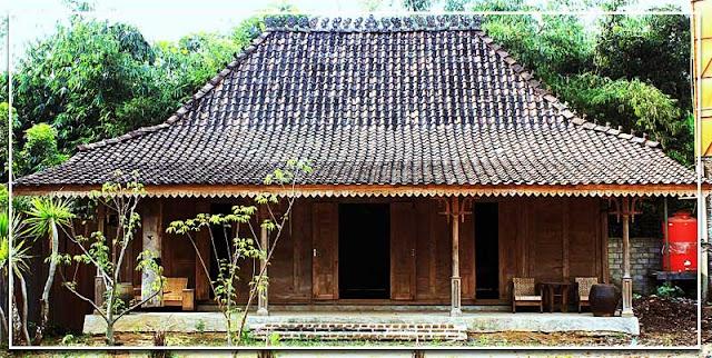 Gambar Rumah adat Limasan Jawa Tengah