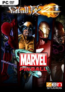 Download Pinball FX2 Marvels Women of Power PC Game Gratis