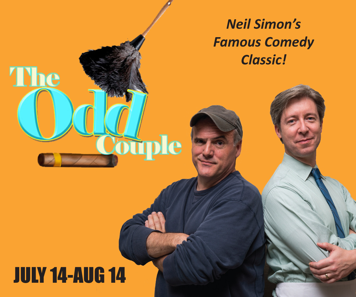 Chiil mama review the odd couple at theatre at the center in theoddcoupleidg fandeluxe Images