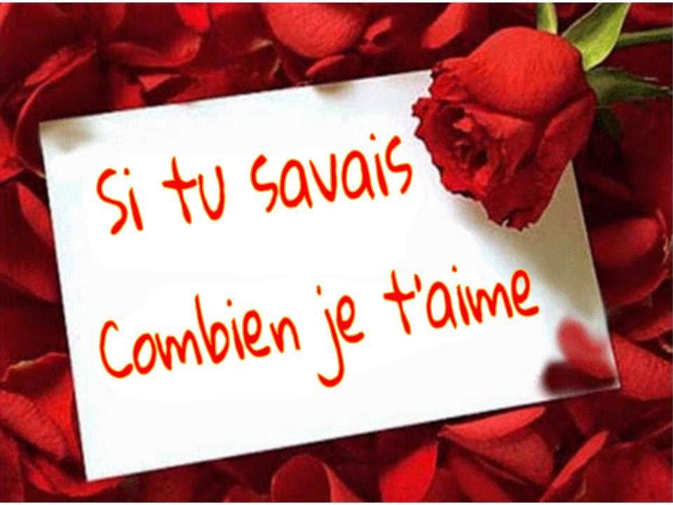 Jolies cartes romantique et virtuelles avec poème d'amour je t'aime