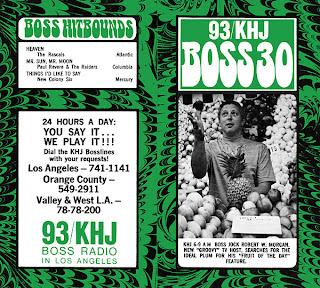 KHJ Boss 30 No. 186 - Robert W. Morgan