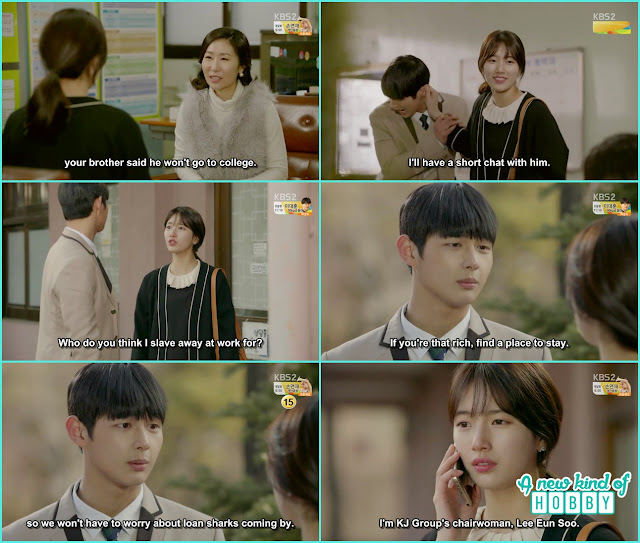 eul scold jik for refusing to attend collage- Uncontrollably Fond - Episode 14 Review