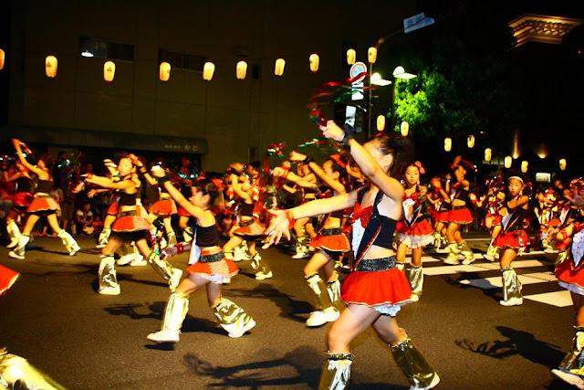 Kurashiki Summer Festival, Okayama Pref.
