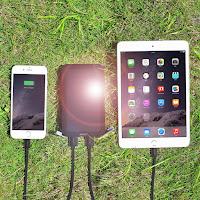Aukey-Solar-Powerbank-12000-mAh-Bild