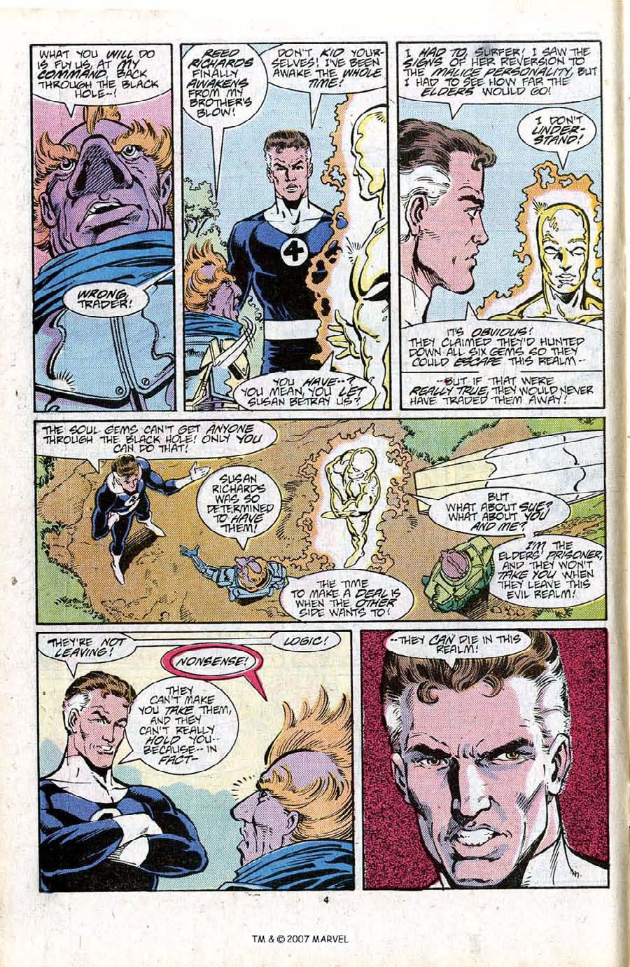 Read online Silver Surfer (1987) comic -  Issue #16 - 6