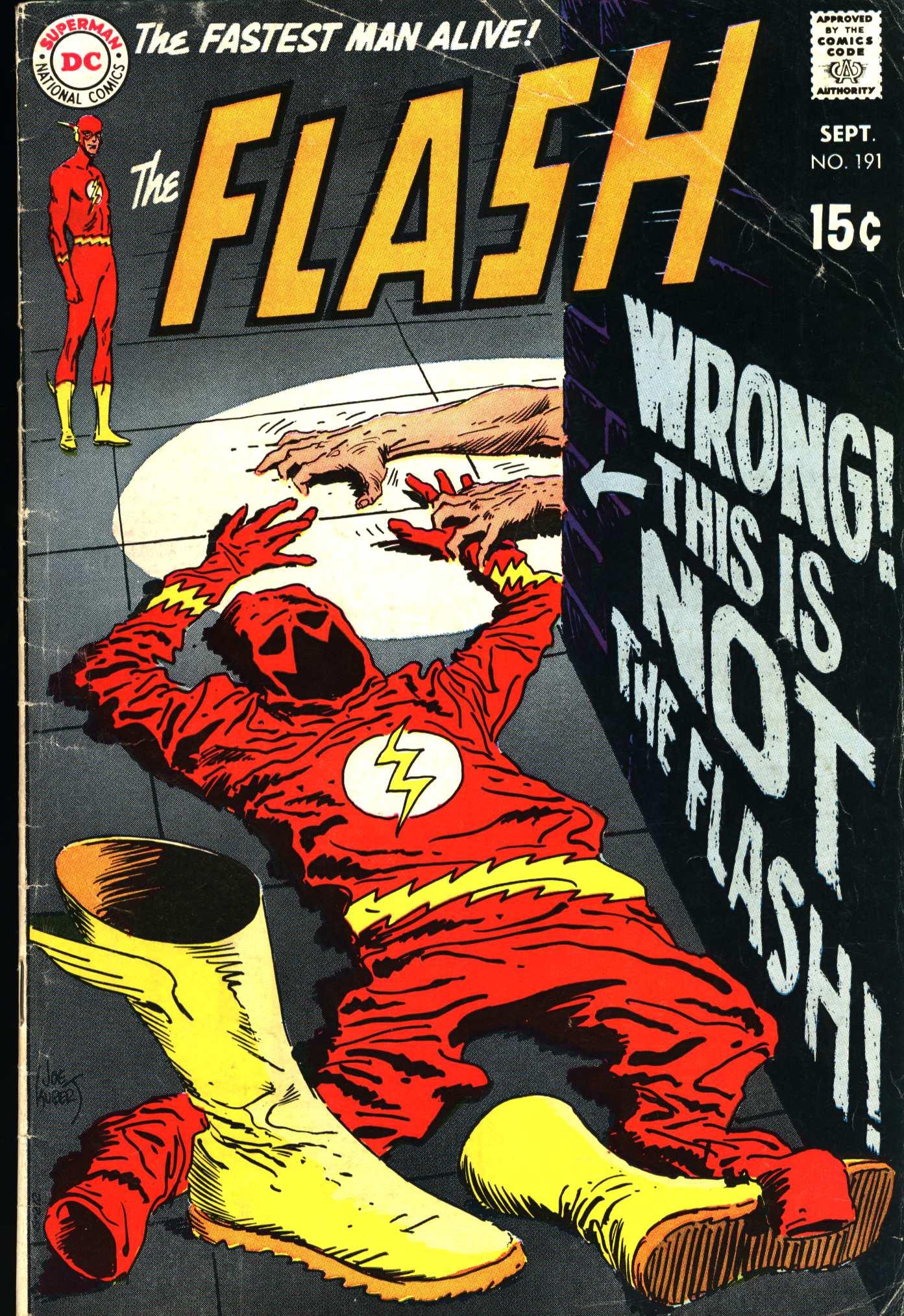 The Flash (1959) 191 Page 1