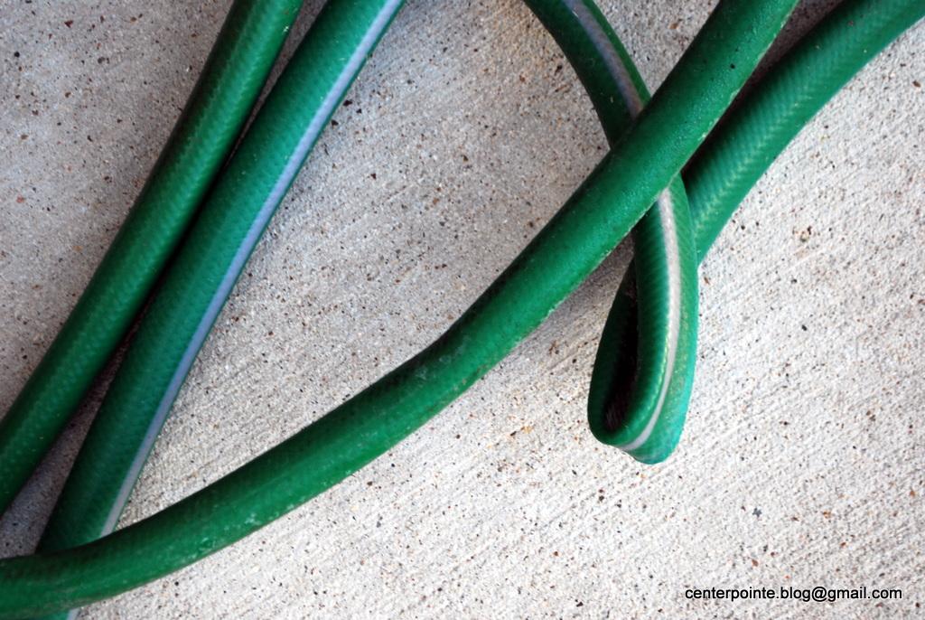 Centerpointe Communicator: A garden hose that doesn't kink