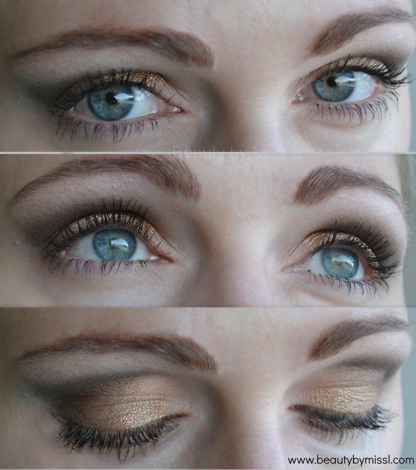 Vivo Cosmetics Unprotected palette, eye makeup look