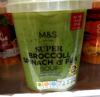 M&S Super Broccoli, spinach & pea Soup