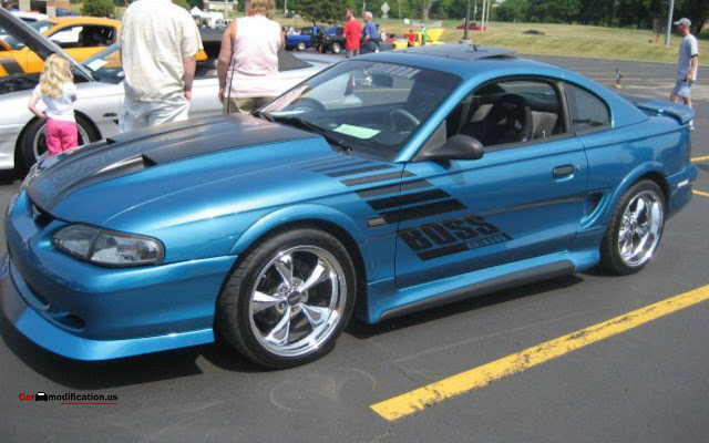 1994 Ford Mustang Wallpaper Modified Full HD - 03