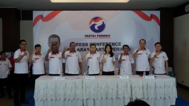 Partai Perindo Tuntut Permintaan Maaf Damai Hari Lubis