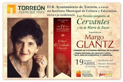 Margo Glantz dará charla en Torreón