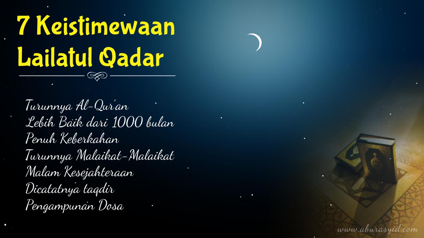 29 Keistimewaan Malam Lailatul Qadar Photos Kata Mutiara Terbaru