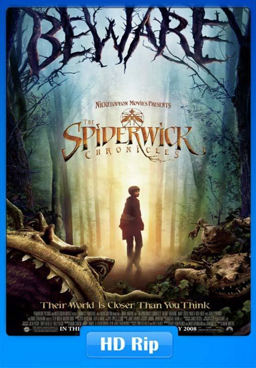 The Spiderwick Chronicles 2008 Hindi Telugu Tamil 720p BDRip ESubs x264 | 480p 300MB | 100MB HEVC