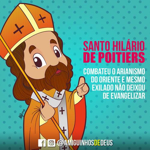 Santo Hilário de Poitiers desenho