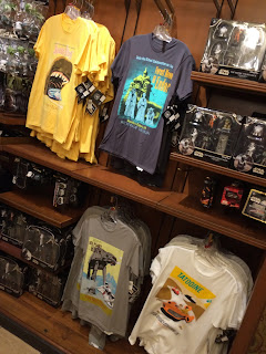 disney main street Emporium gift shop star wars shirts