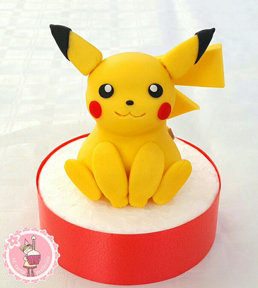 Como hacer a Pikachu con fondant - Pokémon