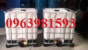 Cung cấp bồn chứa hóa chất, bồn nhựa trắng 1000 lít, thùng đựng hóa chất giá rẻ