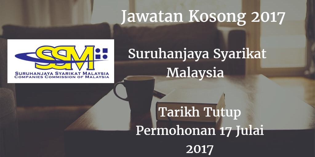 Jawatan Kosong SSM 17 Julai 2017