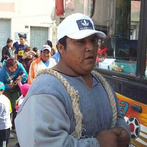 """Miguel Andrade """"EL HOMBRE DE HIERRO DE VILLAZON"""" rumbo al Sudamericano"""