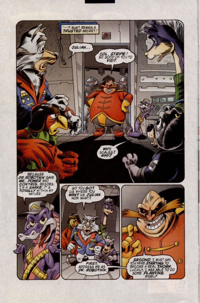 Read online Sonic The Hedgehog comic -  Issue #143 - 8