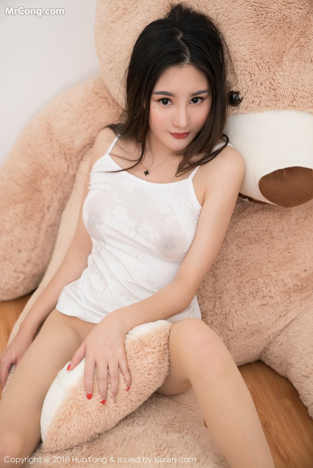 Image HuaYang-2018-03-02-Vol.034-Xiao-Tian-Xin-Candy-MrCong.com-037 in post HuaYang 2018-03-02 Vol.034: Người mẫu Xiao Tian Xin (小甜心Candy) (41 ảnh)