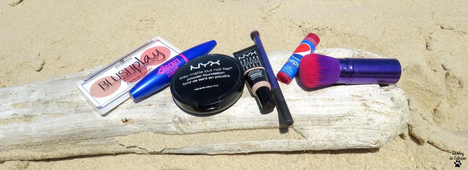 Le maquillage minimaliste pour voyager