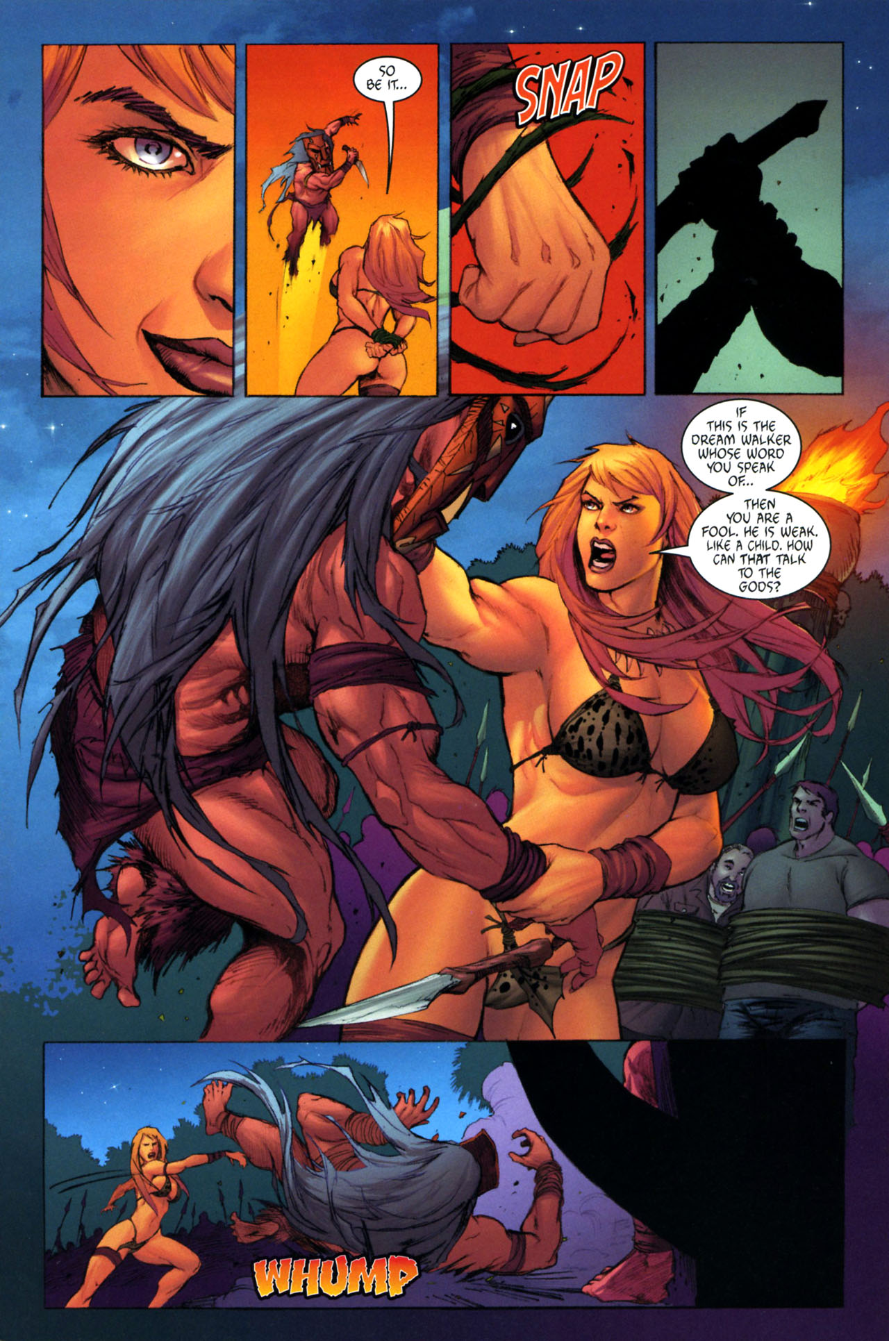 Read online Jungle Girl comic -  Issue #3 - 16