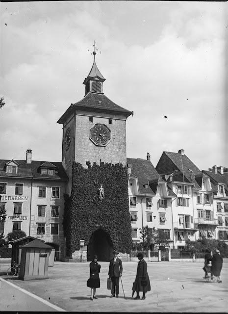 Bieltor am Amthausplatz Solothurn Schweiz - um 1920/30