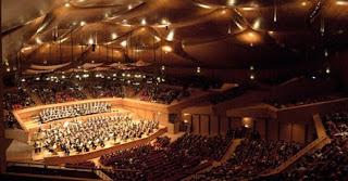 Interior  Sala Santa Cecilia Auditorio Renzo Piano Roma - O auditório de música de Renzo Piano