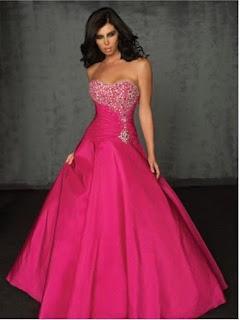 modelo de vestido de noiva rosa pink