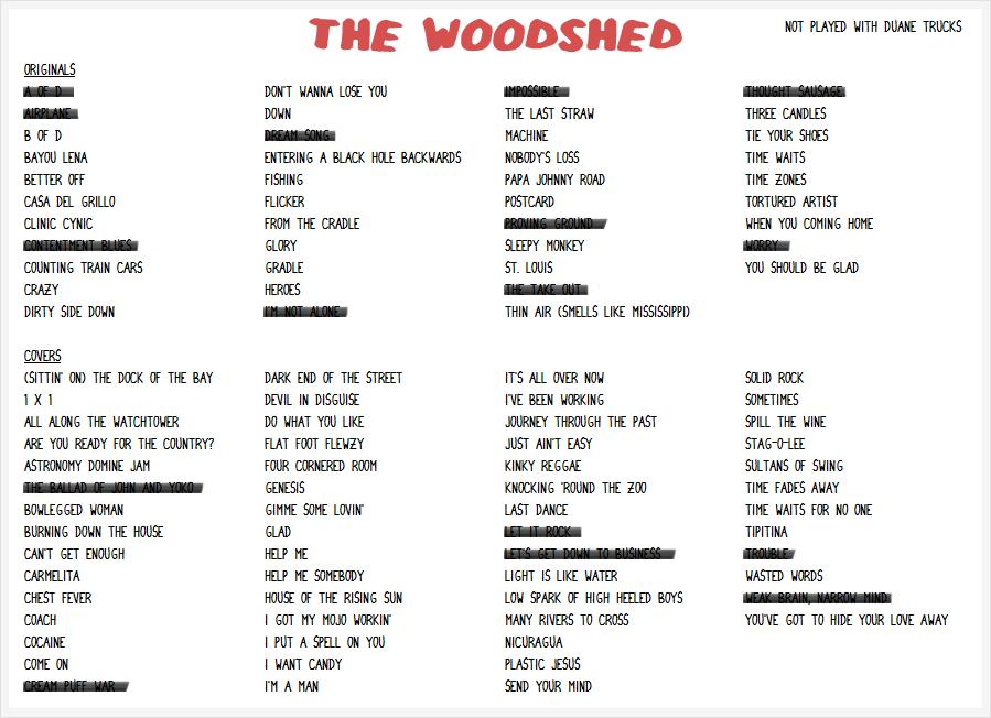 Lyric carmelita lyrics : Widespread Panic Setlists - 2017 Tour: WIDESPREAD PANIC 2015 MAY ...