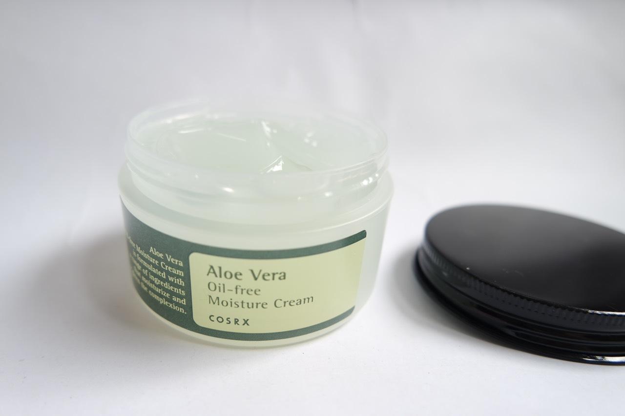 cosrx aloe vera oil-free moisture cream review
