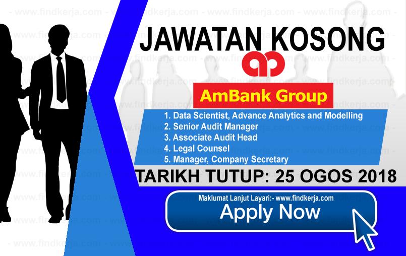 Jawatan Kerja Kosong AmBank Group logo www.ohjob.info www.findkerja.com ogos 2018