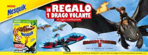 regalo drago volante