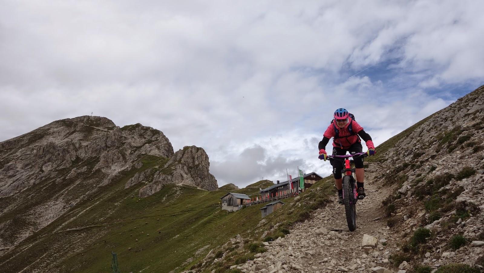 Mountainbike Tour: Nördlinger Hütte (Reither Spitze)
