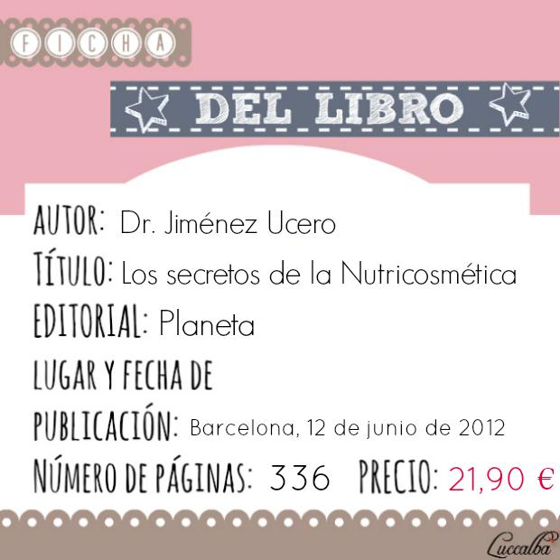 Ficha libro los secretos de la Nutricosmética