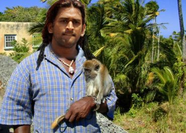 FUNNY M S DHONI INDIAN CRICKETER PICTURE - FUNNY INDIAN ...