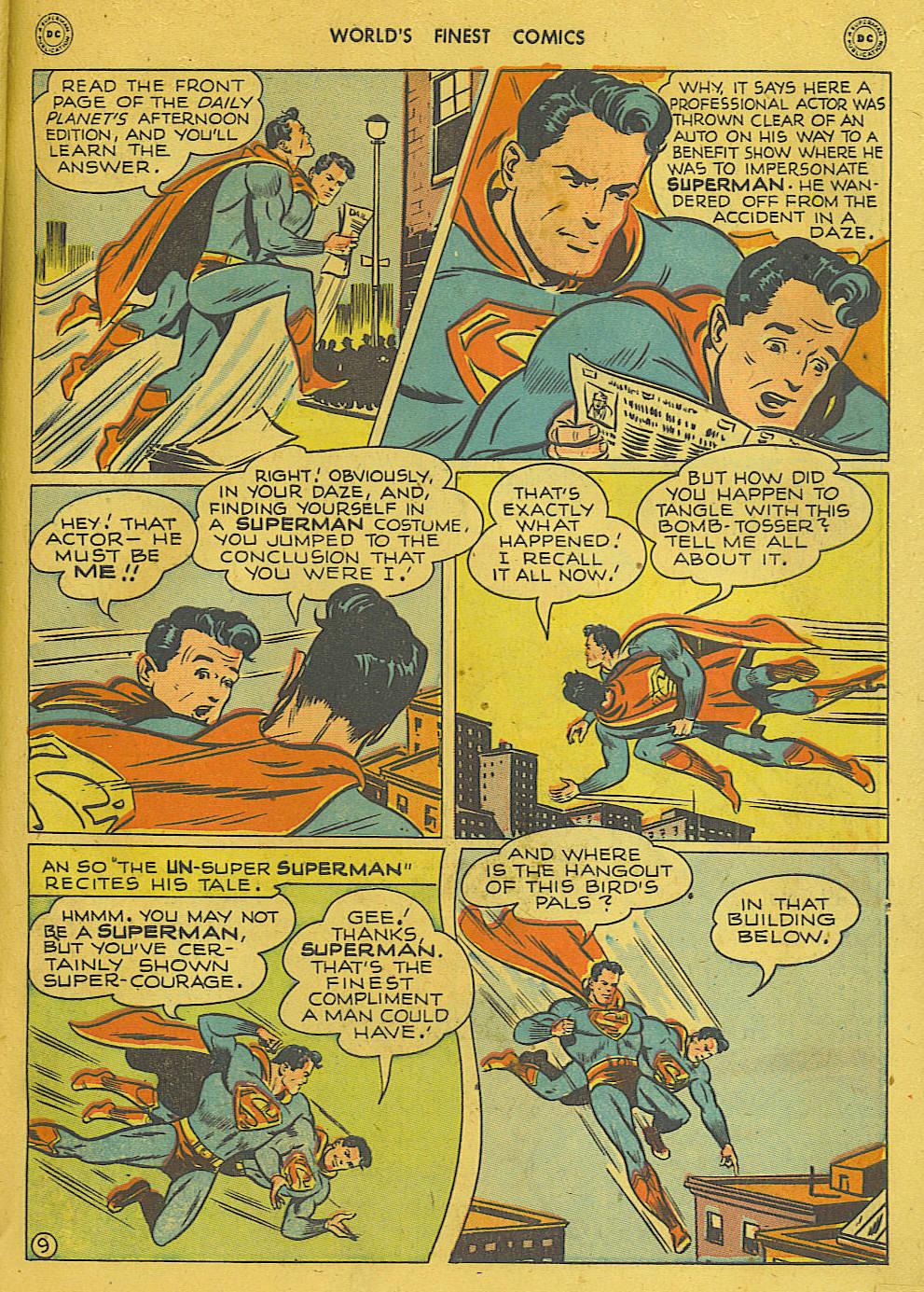 Read online World's Finest Comics comic -  Issue #34 - 11