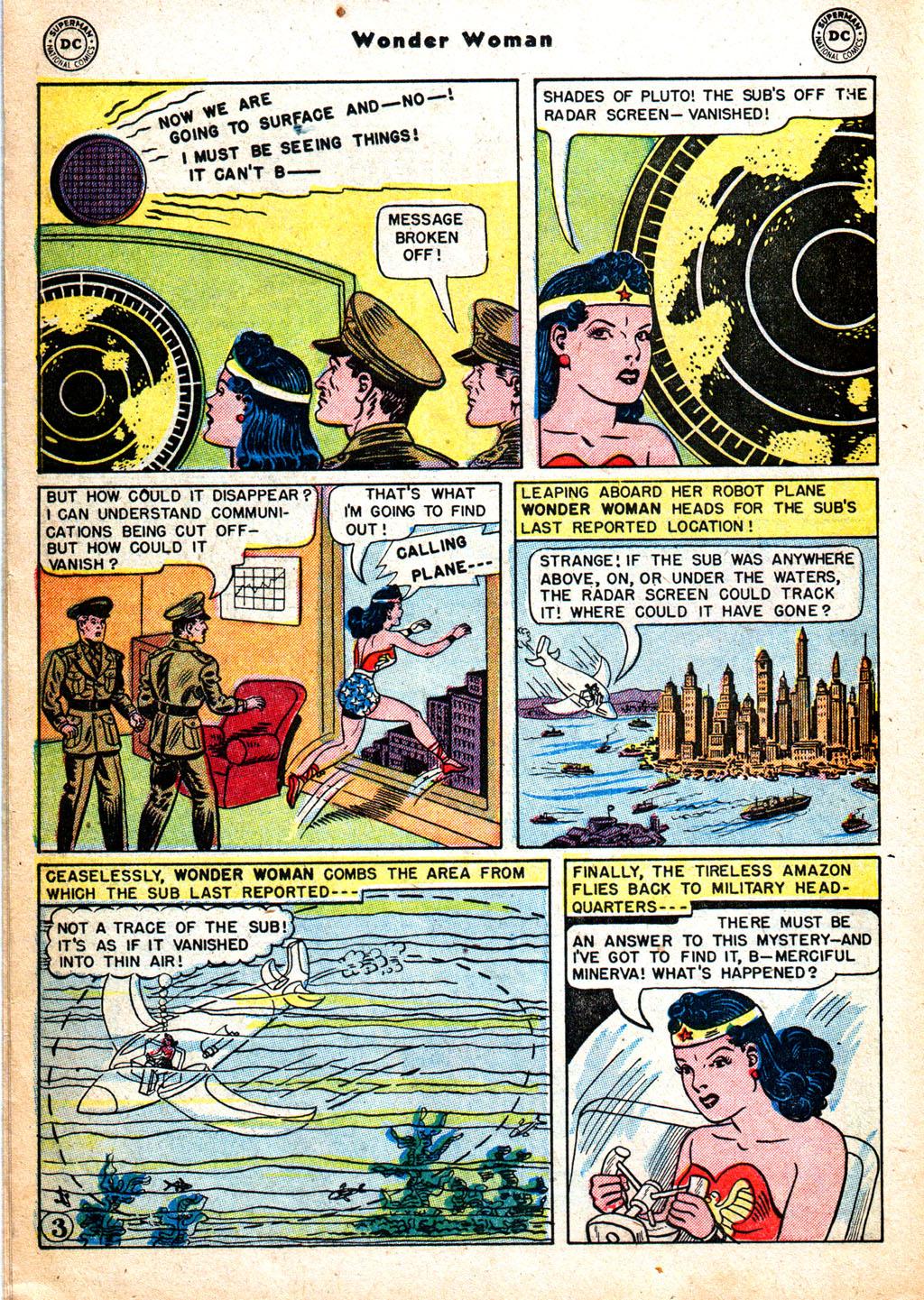 Read online Wonder Woman (1942) comic -  Issue #57 - 19