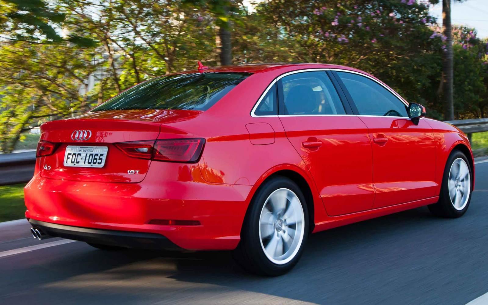 Audi A3 Sedan - fabricação nacional em 2015