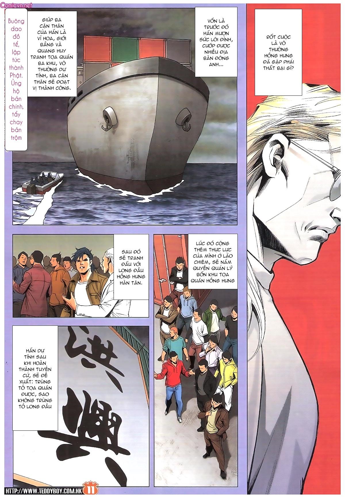 Người Trong Giang Hồ - Hồng Hưng Độc Xà chap 1887 - Trang 10