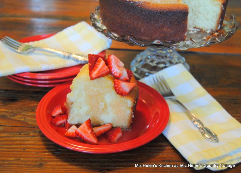 Southern Lemon Buttermilk Cake