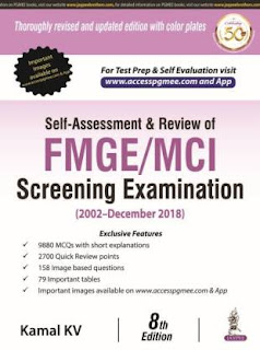 Self-Assessment & Review of FMGE/MCI Screening Examination pdf free download